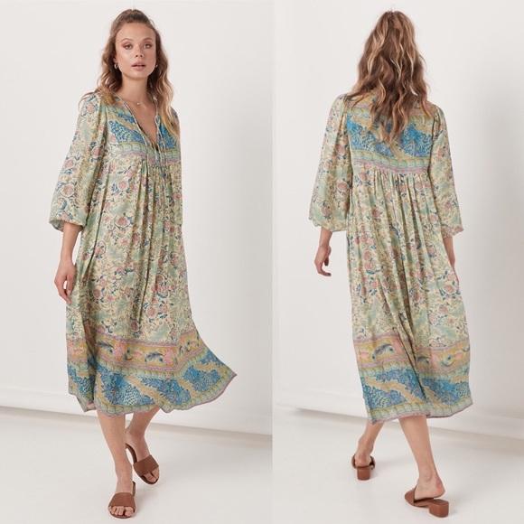 4b6b42b092 🌸SPELL Oasis Boho Maxi Dress. M 5bc36104de6f6275343b794a